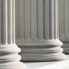 Criminal Defense Attorney, New Orleans Courthouse Columns Photo - NOLA Criminal Law