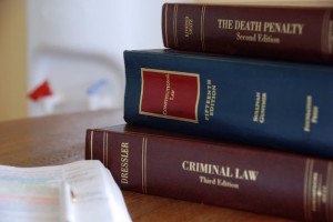 Image Of Law Books On Desk Of Traffic Violations Lawyer - NOLA Criminal Law