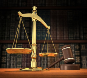 Image Of Scales And Gavel On Desk Of Drug Defense Attorney - NOLA Criminal Law