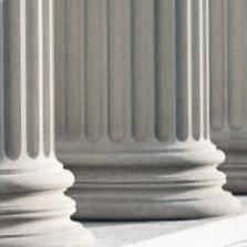 Criminal Defense Attorney, New Orleans Courthouse Columns Photo - NOLA Criminal Law