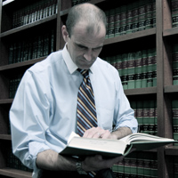 Criminal Defense Attorney, New Orleans Law Book Photo  - NOLA Criminal Law