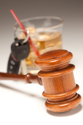 Image Of Gavel With Glass Of Alcohol For DUI/Criminal Defense Lawyer - NOLA Criminal Law
